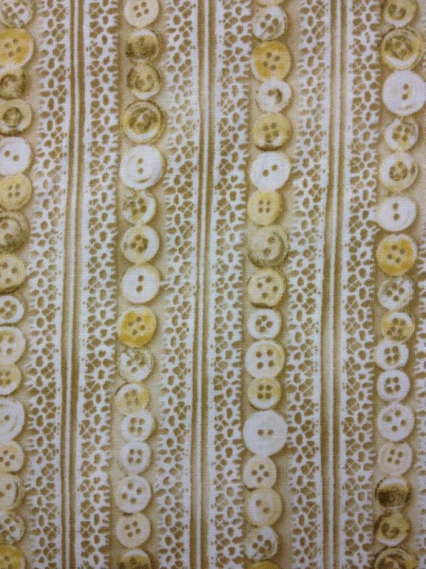 Antique button and lace striped buttons vintage sew sewing for Sewing fabric for sale