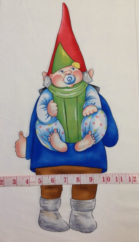 Baby Gnome: Gnomes Large And Small Baby Gnome Panel Scandinavian