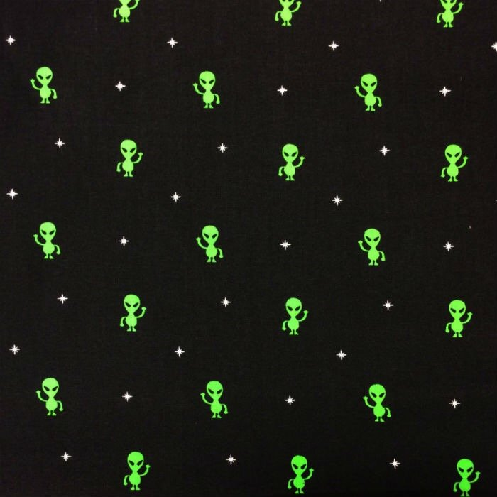 New arrivals for Alien print fabric