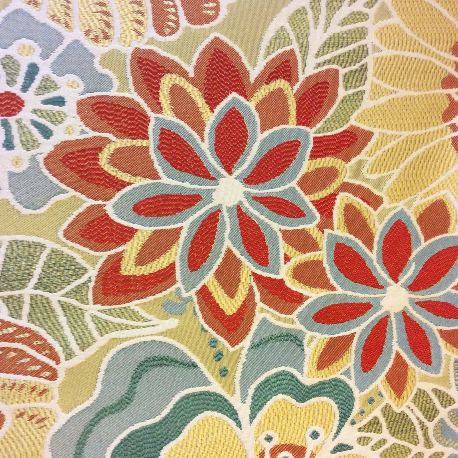 Floral Tapestry Incredible Modern Color Heavy Weight Upholstery Fabric Home Decor Fabric Lhd184c
