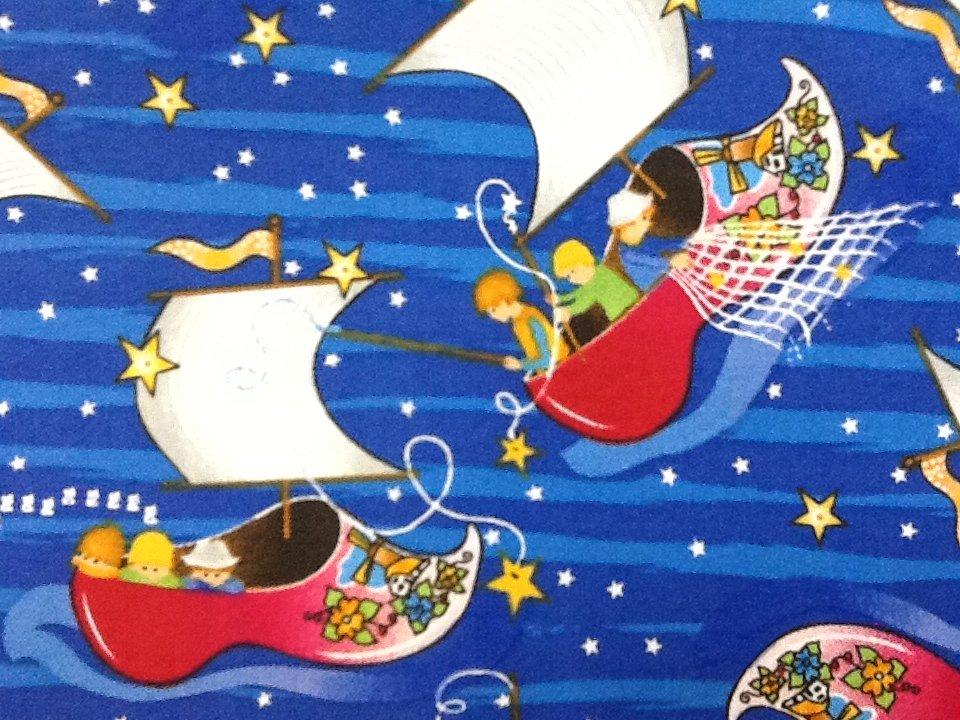 Wynken blynken nod boat childrens book retro quilt for Childrens quilt fabric