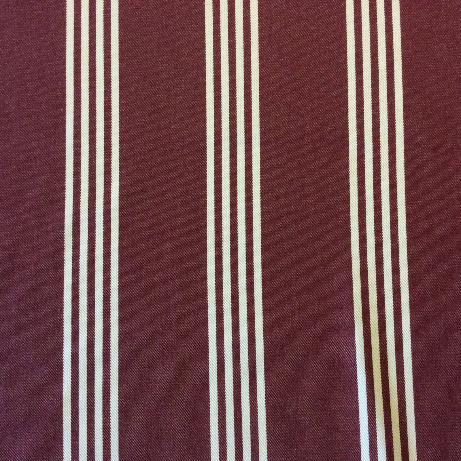 Classic Awning Stripe Ralph Lauren Burgundy & White Striped Geo Patio Awning Indoor Outdoor Home Dec Fabric S567