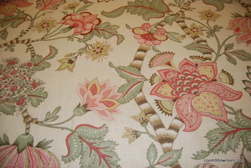 clarice beautiful jacobean style large scale floral