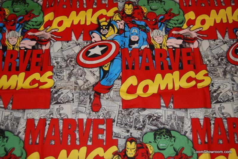 Marvel Comics Iron Man Captain America Hulk Wolverine Thor