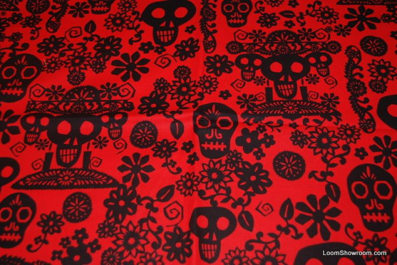 R96 Papel Picado Mexico Paper Cut Day Of The Dead Skull