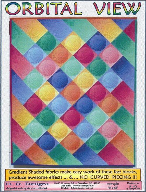 Orbital View Quilt Pattern