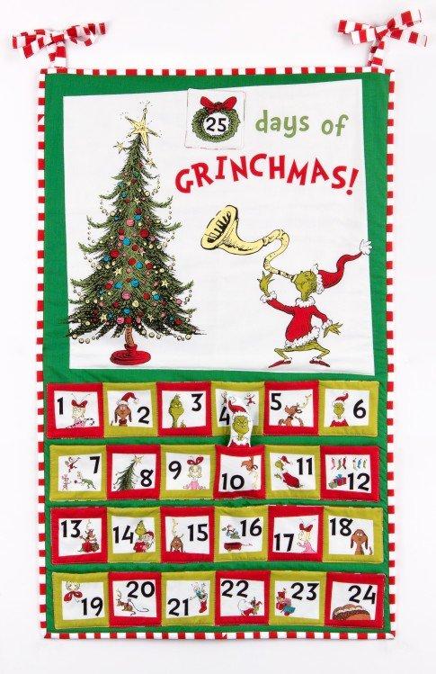 Grinch Stole X-mas Advent Calendar