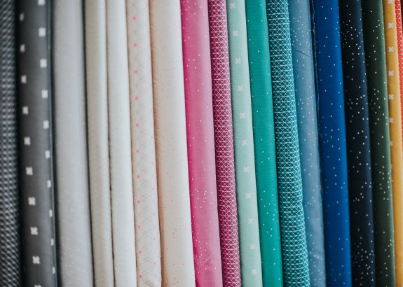 Rainbow of quilting basics