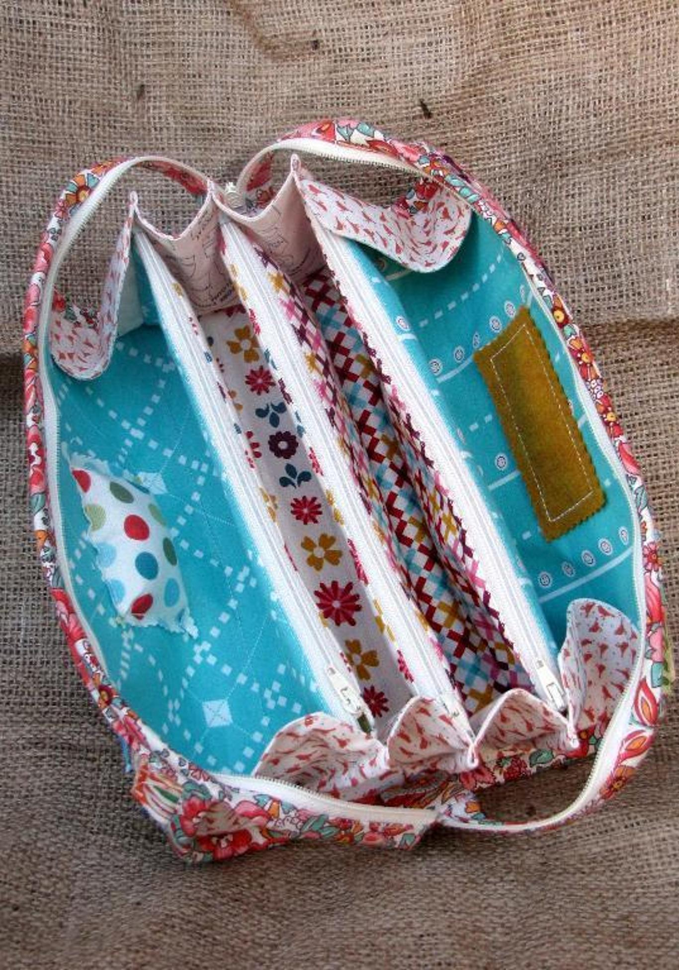 Sew Together Bag Pattern from SewDemented