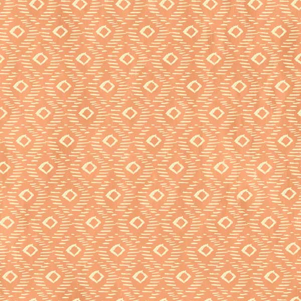Diamond Texture in Peach by Iza Pearl Designs from the Blush + Blooms collection for Windham #41650-5