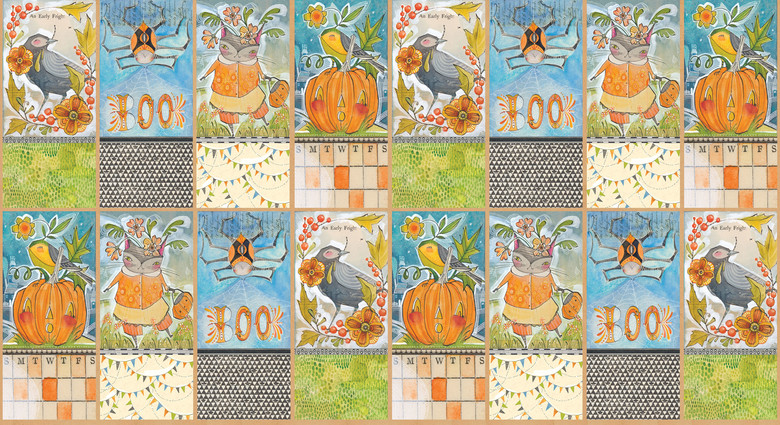 Tricky Treaters by Cori Dantini from the Spooky Town collection for Blend #112.110.03.1
