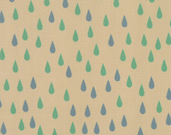 Raindrops in Sand by Momo from the Flying Colors collection for Moda #33066 11