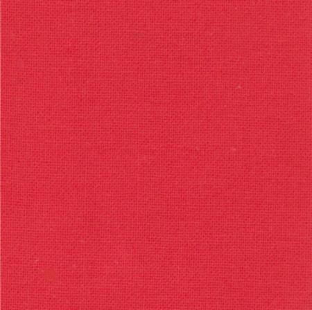 Solid Bettys Red from the Bella Solids collection for Moda #9900 123