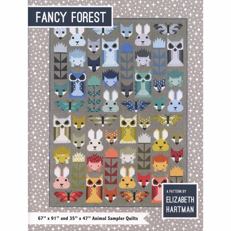 Fancy Forest Quilt Pattern from Elizabeth Hartman