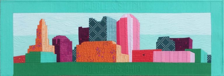 Row By Row 2016 Columbus Skyline PATTERN only