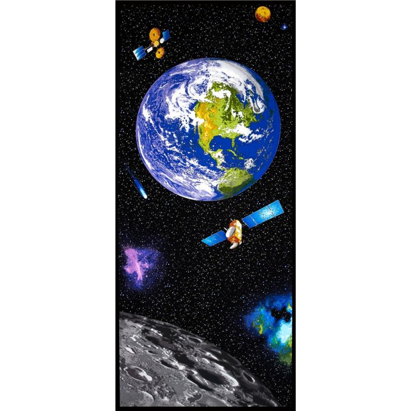 I want my space fabric panel by benartex 3381 for Fabric space