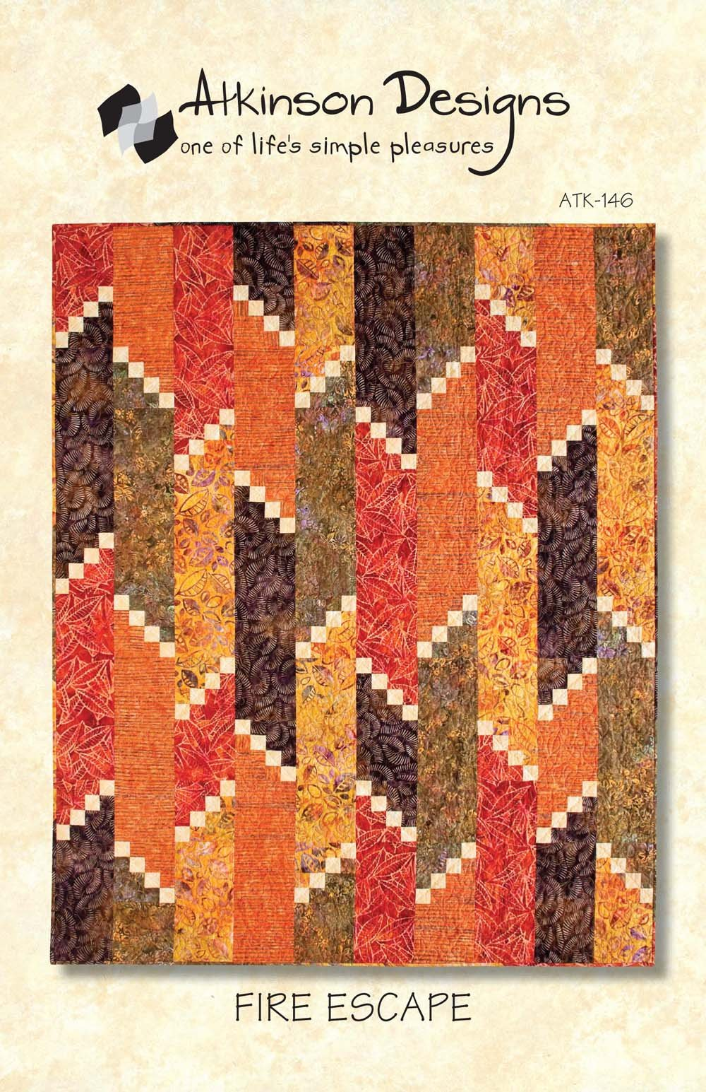 Fire Escape, Quilting Pattern by Atkinson Designs : ATK-146
