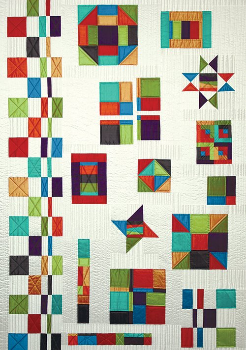 Gypsy sampler by calico carriage quilt designs for Modern house quilt pattern