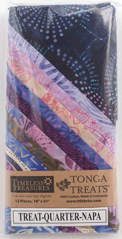 Treat-Quarter-Napa, Fat Quarter Tonga Treats by Timeless Treasures