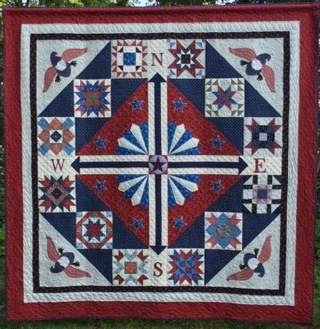 Weathering Freedom, Fabric Kit, Pattern by Calico Patch Designs