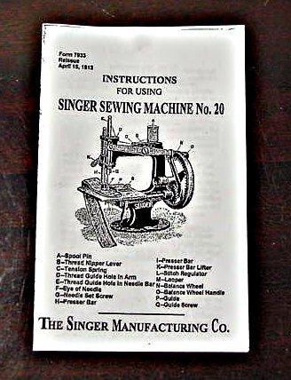 singer toy sewing machine instructions