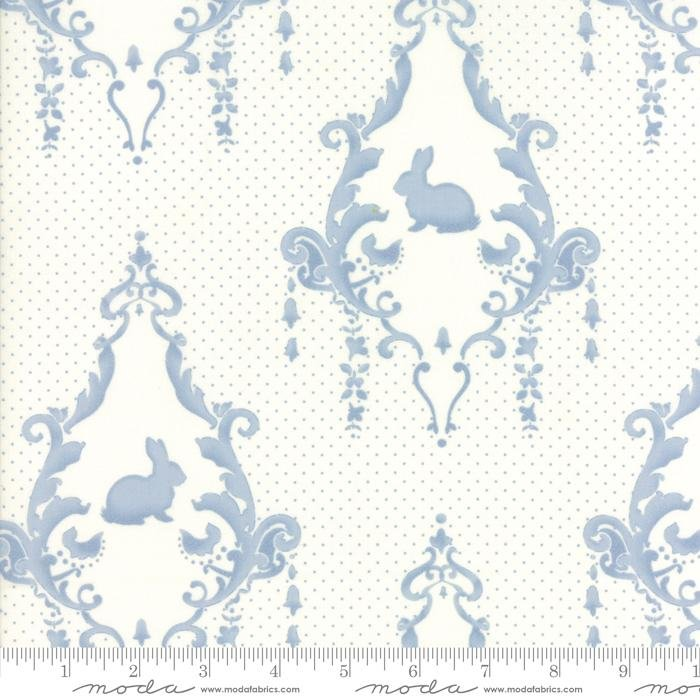 Moda - Lily Will Revisited Cream Blue