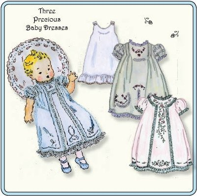 Old Fashioned Baby Baby Day Dresses