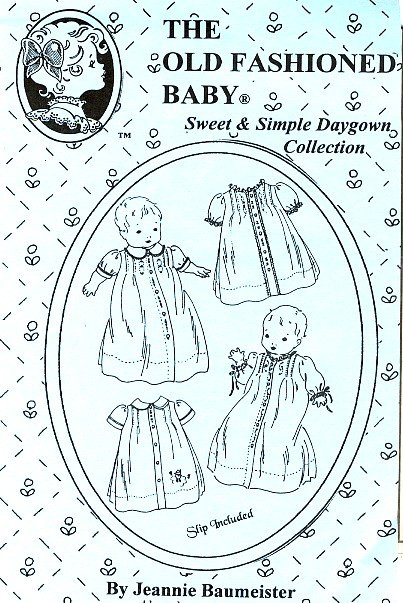 Old Fashioned Baby Sweet Simple Daygowns