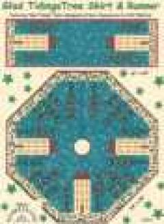 Glad Tidings Tree Skirt & Runner pattern