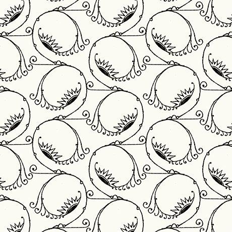 Swirl Sight - Ecru - Queen of We'en - QT Fabrics