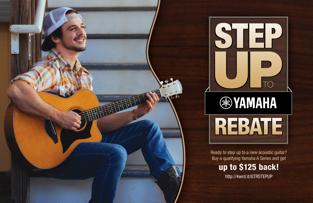 Step Up to Yamaha Rebate