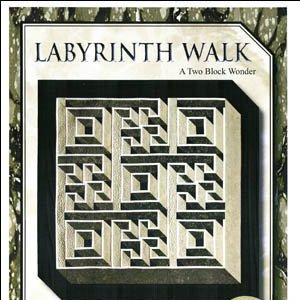 Quilt Design Online Two Fabric Bargello Quilt Labyrinth