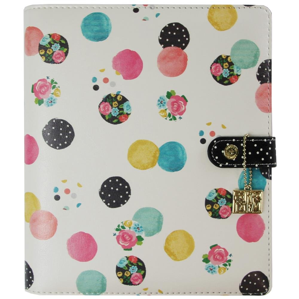 Floral Dot Planner A5
