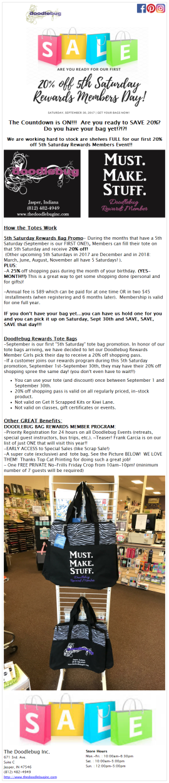 New Rewards Program