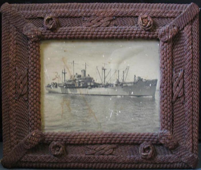 Sailor S Macrame Antique Rope Picture Frame