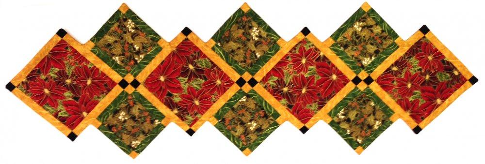 Joyful Blooms Table Runner