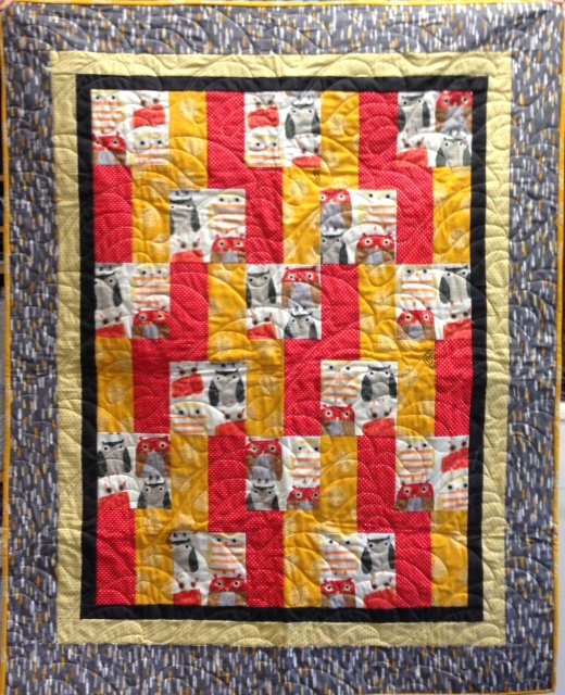 Easy Quilt With Three Fabrics : 270: Three s a Quilt