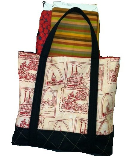 Brown St. Louis Tote