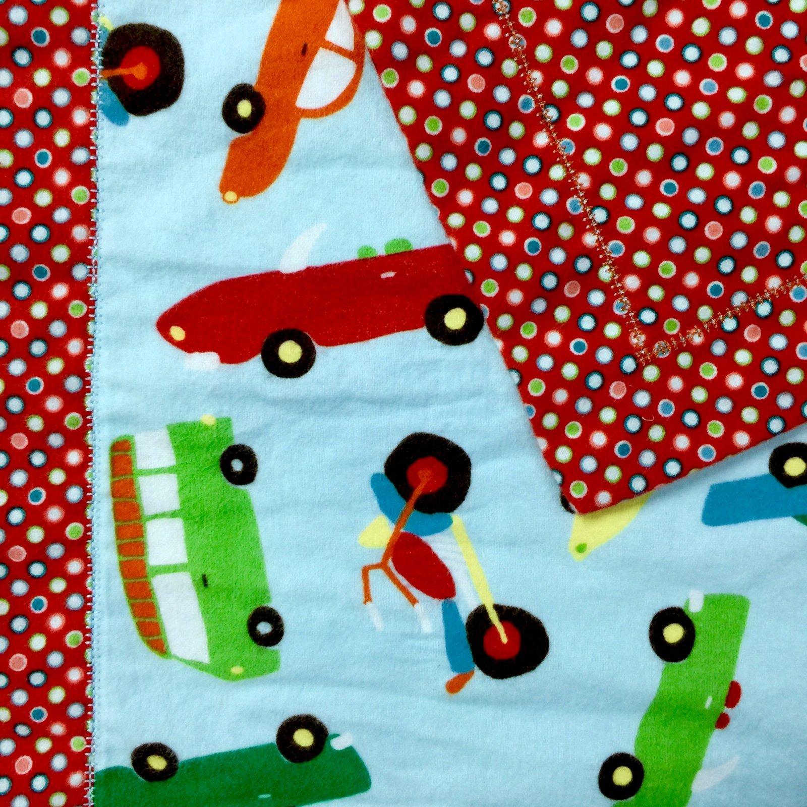 163CL: Self Binding Baby Quilt
