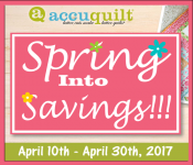 Accuquilt Promotions