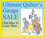 Ultimate Quilters Garage Sale