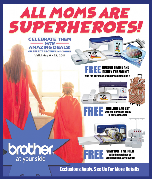 Brother Promo May