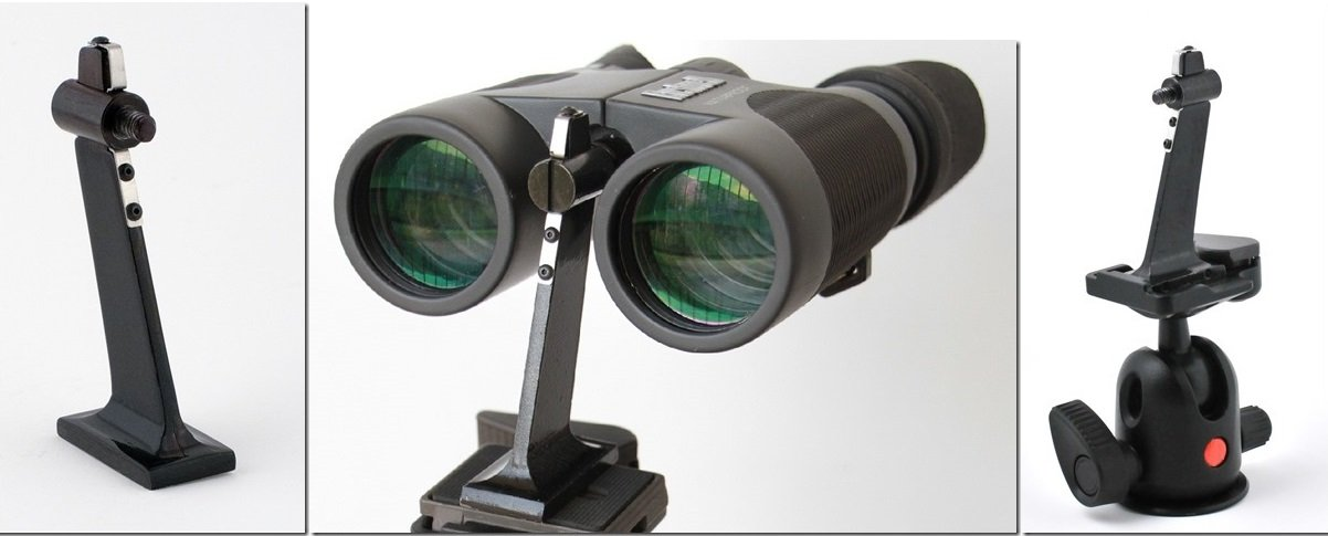 Rapid-Release Binocular Tripod Adapter