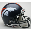 Denver Broncos Riddell Full Size Authentic Football Helmet