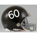 Denver Broncos Throwback 60-61 Riddell Full Size Authentic Football Helmet