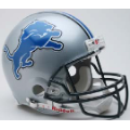 Detroit Lions Riddell Full Size Authentic Football Helmet