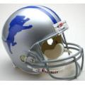 Detroit Lions Throwback 62-68 Riddell Full Size Authentic Football Helmet