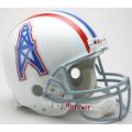 Houston Oilers Throwback 75-80 Riddell Full Size Authentic Football Helmet
