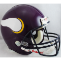 Minnesota Vikings Throwback 83-01 Riddell Full Size Authentic Football Helmet