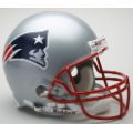 New England Patriots Riddell Full Size Authentic Football Helmet